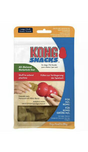 KONG - Snacks - All Natural Dog Treats - Bacon and Cheese Biscuits - Large ...