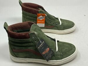 Vans Sk8-Hi MTE Deep Lichen Green Root Beer Men's Size 9 Women's 10.5 NOBOXTOP