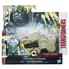 Transformers L'ULTIMO CAVALIERE 1-Step Turbo changer Autobot Hound Figura