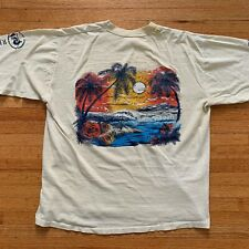 Vintage 70s Rip Curl Surfing T-Shirt Sz S Thrashed Long Sleeve Hawaii Souvenir