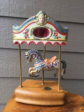 Willitts Designs Carousel Horse Tobin Fraley Collection LimitedEdition Music Box