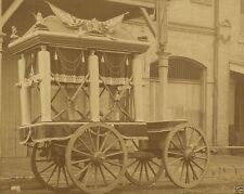 Funeral car of Confederate President Jefferson Davis 8x10 US Civil War Photo