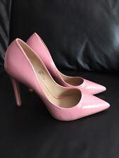 Brand New River Island Pink Patent Heels Size UK 7