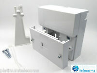 Kauden BT Openreach type master telephone socket NTE5A with back box. IDC tool