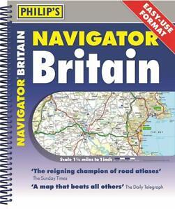 Philip's - Navigator Britain 2018 Spiral Bound *FREE P&P*