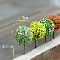 5Pcs Mini Tree Miniature Fairy Garden Micro Landscape Bonsai Decor DIY V8Q8