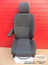 MB Sprinter 906 Fahrersitz Sitz Komfort 2010 Armlehne Einstellungsmöglichkeiten