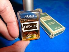 Aramis Devin Country Cologne Miniature Perfume Bottle (pb190)