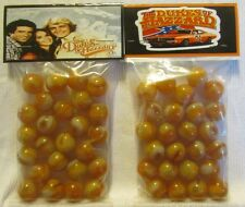 2 Bags Of The Dukes Of Hazard General Lee Car TV Show Promo Marbles