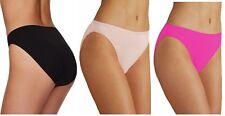 2 PAIRS M&S Ladies Microfibre High Legs cut no VPL Briefs