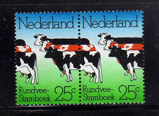 HOLANDA/NETHERLANDS 1974 MNH SC.515 Pair.Cattle Herdbook Soc.Cent.