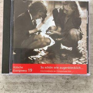 KÖLSCHE EVERGREENS 19: Su schön wie augenblecklich (CD Carlton 100-00231 / neu)