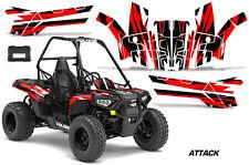 Polaris Sportsman ACE 150 ATV Graphic Kit Wrap Quad Accessories Decals ATTACK R