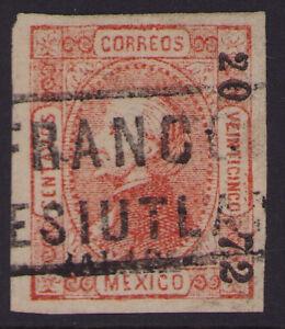 cw26 Mexico #95 25ctv Jalapa 20-72 / TESIUTLAN Sz 639 est $3-5+ VF