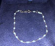 Gigi Clozeau 18k White Gold Blue Bracelet