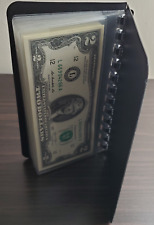 (10) NEW $2 Bills in ☆ NEW CURRENCY ALBUM ☆  Consecutive Serial# Uncirculated