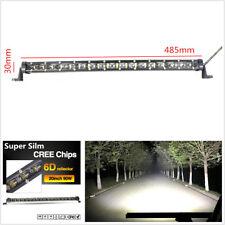 """20"""" inch 90W Off-Road Truck Work Light Spot Combo Led CREE 6D Lens Fog Light Bar"""