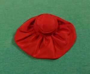 Vintage Barbie Clothes - Vintage Barbie Pak Glamour Hats Red Satin Hat