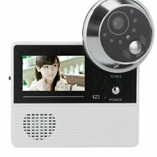 "2.4"" LCD Visual Monitor Door Peephole Peep Hole Wireless Viewer Camera Video PA"