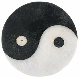 Handmade Stone Incense holder Burner Yin Yang Design Made In India Home Decor