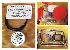 O-ring & Kit De Grasa de silicona para buceo carcasa submarina caso Olympus PT-16