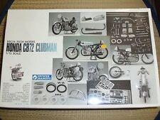 1/12 Gunze HONDA CB72 CLUBMAN High-Tech Model == SEALED
