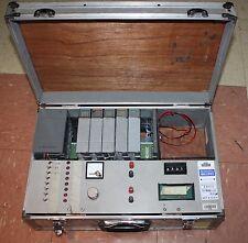 Allen Bradley SLC500 trainer program tester box  analog NIO4V, DC sink relay out