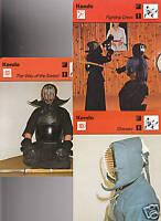 KENDO Martial Arts 1977-79 SPORTSCASTER USA 3 CARD SET