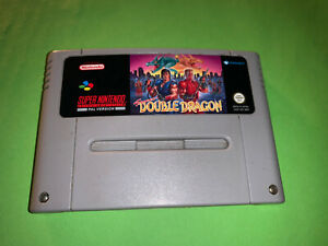 Double Dragon Super Nintendo Snes Pal Version Cart
