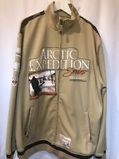 ENYCE Clothing Mens XL Arctic Expedition Series 1996 zip up Heavy Jacket hoodie