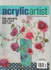 ACRYLIC ARTIST MAGAZINE WINTER 2015 EXPLORE/DISCOVER/CREATE