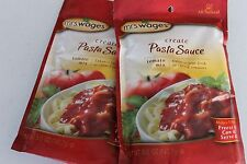 2 Pack Mrs. Wages Pasta Sauce Tomato Mix (5-Ounce Package) Fresh Tomato Canning