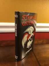 "1967 1st Edition ""STRANGE GATEWAYS"" E. Hoffmann Price ARKHAM House Horror Weird"