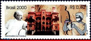 2744 BRAZIL 2000 OSWALDO CRUZ FOUNDATION, FIOCRUZ HEALTH MI# 3032 RHM C-2280 MNH