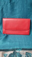 """Furla Bifold Leather Wallet Made in ITALY Measurements 7.75 """"×4.75 """""""