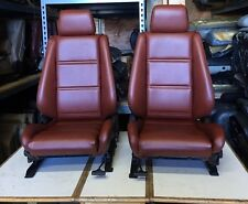 BMW e30 325/318 New Card Red Front Seats  For Convertibles (1982-91) $1500.00