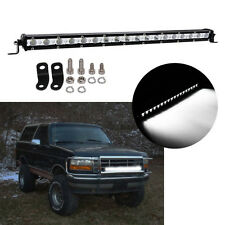 21Inch 54W Cree LED Work Light Bar Single Row driving Lamp Ute ATV SUV For JEEP