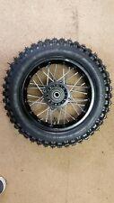 """10"""" Pit Bike SDG steel Rear Wheel  & Tyre demon shineray thumpstar mx 3.00-10"""