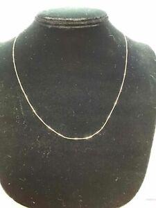 "14K Karat gold necklace 18"" Long"