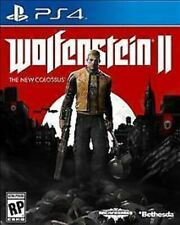 Wolfenstein II: The New Colossus 2 USED SEALED (Sony PlayStation 4, 2017) PS4