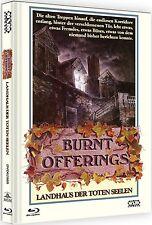 Mediabook LANDHAUS DER TOTEN SEELEN Burnt Offerings OLIVER REED  Blu-Ray DVD NEU
