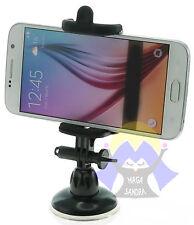 SUPPORTO con VENTOSA per NAVIGATORE Cellulare UNIVERSALE da AUTO Smartphone GPS