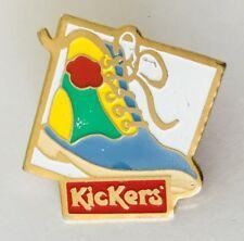 Kickers Boots Shoes Footwear Brand Advertising Pin Badge Vintage (J5)