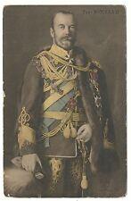 RUSSIA YR.1909-19`s. TZAR NICOLAS II ART POSTCARD.UNUSED.CLICHE MANUEL