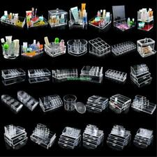 Cosmetic Organizer Makeup Box Acrylic Drawer Holders for Jewelry Storage Cases