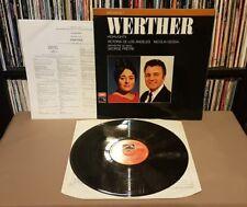MASSENET WERTHER Highlights De Los Angeles/Gedda/Petre Vinyl + Inserts ASD 2712