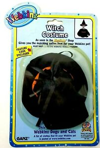 Ganz Webkinz Witch Costume Fits most Webkinz Dogs and Cats N