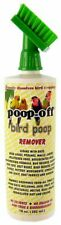 New listing Poop-Off Bird Poop Remover With Brush 16 oz 79