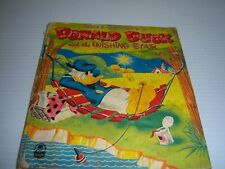 VINTAGE ANTIQUE BOOK:DONALD DUCK and the WISHING STAR