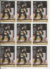 Lot of 100 *** 2008-09 Upper Deck UD Mario Lemieux Heroes NHCD #12 Card Mint